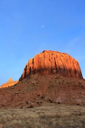 The moon and Sandstone