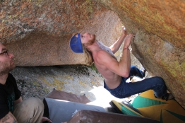 Vedauwoo boulder sessions