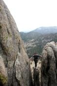 "Ron Joyce on a ""walk of"" at Lumpy Ridge"