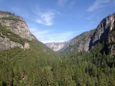 The View looking East from top of Pat and Jack's Pinnacle, Yosemite Valley