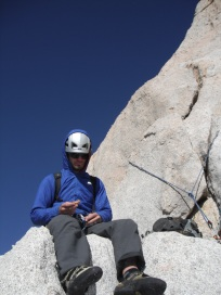 Snack break on Cathedral Peak, Tuolumne Meadows