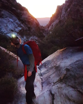 Approaching Levitation 29 by headlamp PC: James Otey